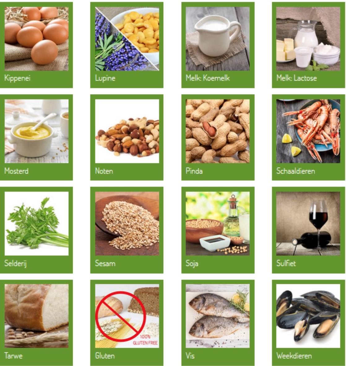 Allergenen voeding
