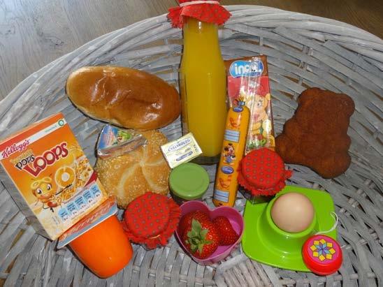 Ontbijtmand aan huis Limburg